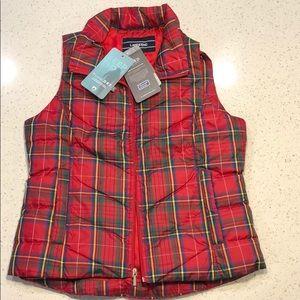 Lands' End vest size small 4-6